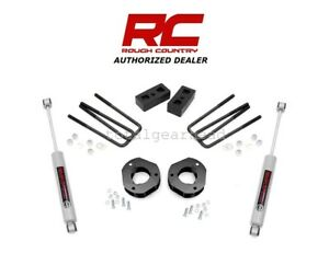 2007 2013 Chevrolet Gmc 1500 2wd 3 5 Rough Country Suspension Lift Kit 26830