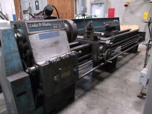 Lodge Shipley Blue Chip Lathe S n 26378