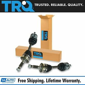 Trq Front Cv Axle Shaft Assembly Pair Set Of 2 For Toyota Tacoma 4runner New
