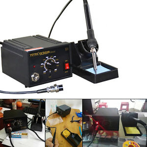 936 Power Electric Soldering Station Smd Rework Welding Iron With Aluminum Stand