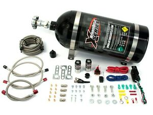 22 81000 Nitrous Outlet X series Gm Efi Wet Single Nozzle Kit 35 200hp