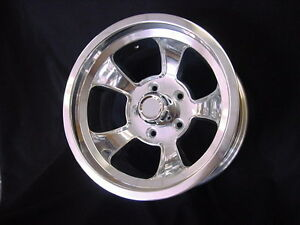 15 X 7 Rons Rims Hot Rod Chevy Gasser 5x4 75bp Chevy Gm Halibrand Style