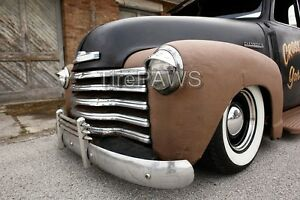 Atlas 15 Wide White Wall Port A Walls Insert Trim Set Hot Rod Old School Chevy