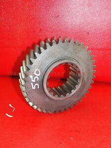 Oliver Tractor Transmission Gear Countershaft 39 Teeth 550 White 2 44 100008a