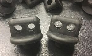Vw Aircooled 36hp Rubber Spark Plug Wire Clip Set 61 prior Prt Vrd248