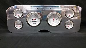 1955 1956 1957 1956 1959 Gmc 6 Metric Gauge Dash Cluster Set Billet Insert