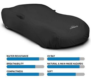 Coverking Solid Stormproof Car Cover Indoor Outdoor Great For Outdoor Use