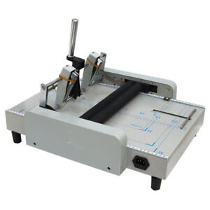 Booklet Maker Book Binder Staple Folder 110v Automatic Free Shipping