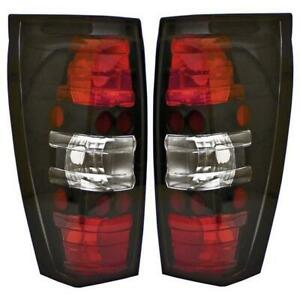 Ipcw 2002 2006 Cadillac Escalade Ext Bermuda Black Tail Lights Pair Cwt Ce347cb