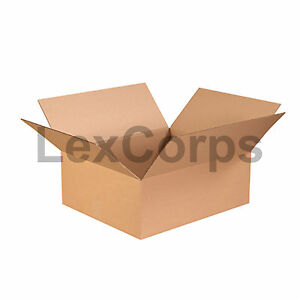 20 Qty 22x18x8 Shipping Boxes Lc Mailing Moving Cardboard Storage Packing