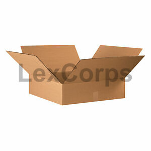 20 Qty 22x22x6 Shipping Boxes Lc Mailing Moving Cardboard Storage Packing