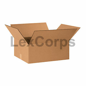 20 Qty 20x16x8 Shipping Boxes Lc Mailing Moving Cardboard Storage Packing