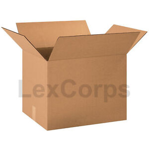 20 Qty 22x15x15 Shipping Boxes Lc Mailing Moving Cardboard Storage Packing