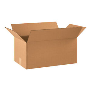 20 Qty 22x12x10 Shipping Boxes Lc Mailing Moving Cardboard Storage Packing