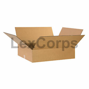 20 Qty 24x20x6 Shipping Boxes Lc Mailing Moving Cardboard Storage Packing