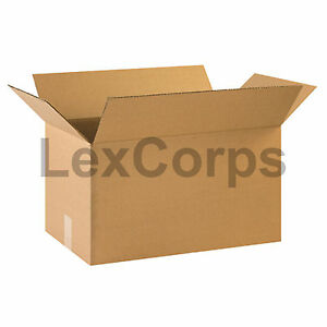 20 Qty 22x12x12 Shipping Boxes Lc Mailing Moving Cardboard Storage Packing