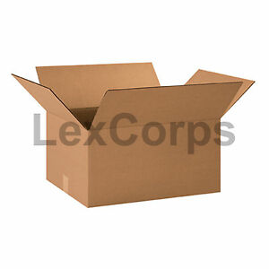 20 Qty 20x15x10 Shipping Boxes Lc Mailing Moving Cardboard Storage Packing