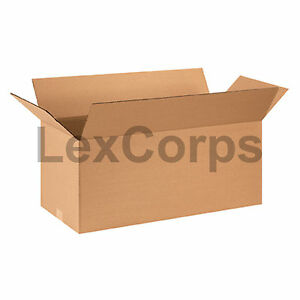 20 Qty 28x12x12 Shipping Boxes Lc Mailing Moving Cardboard Storage Packing