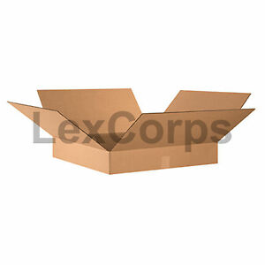 20 Qty 24x24x4 Shipping Boxes Lc Mailing Moving Cardboard Storage Packing