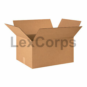 20 Qty 22x17x12 Shipping Boxes Lc Mailing Moving Cardboard Storage Packing