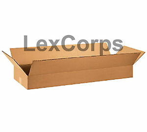 20 Qty 36x12x4 Shipping Boxes Lc Mailing Moving Cardboard Storage Packing