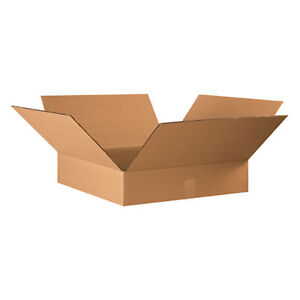 20 Qty 22x22x4 Shipping Boxes Lc Mailing Moving Cardboard Storage Packing