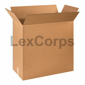 20 Qty 24x12x24 Shipping Boxes Lc Mailing Moving Cardboard Storage Packing