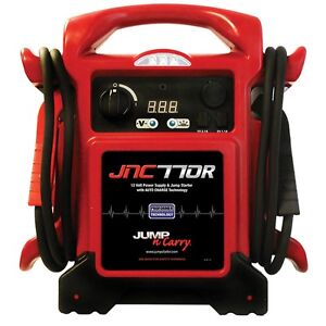 Jnc770r Jnc770 Heavy Duty 12 Volt Jump Starter Booster Pack And Power Supply