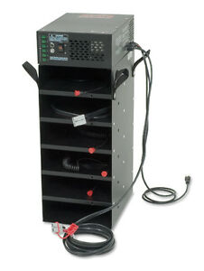 Portable 6 Radio Systems Power Supply Ups Asaps 6 110ac 12v Dc Us Military Issue