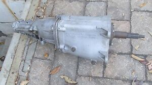 1969 Unstamped Muncie M22 Original Transmission 661 Coerce Spline