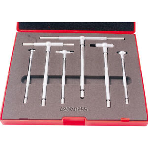 Pro series 6 Piece 5 16 6 B s Style Telescoping Gage Set 4209 0255
