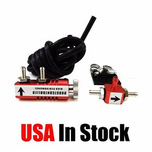 Adjustable Racing Turbo 30psi Manual Boost Bypass Controller Kit Red
