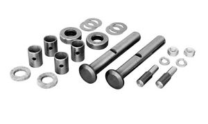 King Pin Kit W Alum Tops For 1942 1948 Ford Car Front Spindles Pete