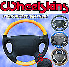 Bmw Perforated Custom 1 Or 2 Color Leather Steering Wheel Cover Eurotone Tone