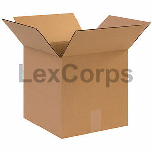 25 Qty 12x12x12 Shipping Boxes Lc Mailing Moving Cardboard Storage Packing