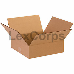 25 Qty 13x13x4 Shipping Boxes Lc Mailing Moving Cardboard Storage Packing