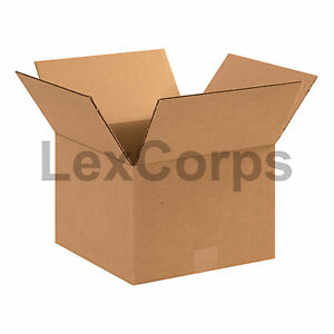25 Qty 12x12x8 Shipping Boxes Lc Mailing Moving Cardboard Storage Packing