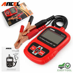 Ancel Bst200 Car Battery Load Tester 12v 1100cca Battery System Charging Tester