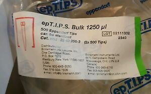 Eppendorf 022492063 Quality Standard Eptips Pipette Tip Bagged 50 1250