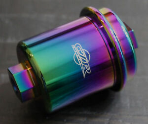 Czrracing High Flow Washable Fuel Filter Honda 96 00 Civic Ek Ex Dx Neo Chrome