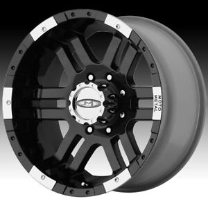 Moto Metal Mo951 Black Machined 18x9 8x170 12mm Mo9518987312
