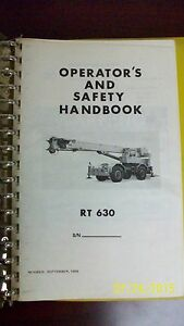 Grove Crane Operator s And Safety Handbook
