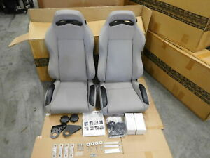 Jeep Wrangler Tj 1997 2006 Xhd Gray Front Seat 13415 09 Rugged Ridge Pair