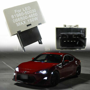 8 Pin Led Flasher Relay Fix For Lexus Toyota Scion Led Turn Signal Light Bulbs