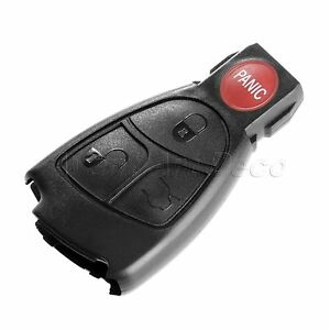 Replacement Smart Key Car Remote Entry Fob Case Shell Cover For Mercedes Benz