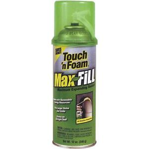 12 Pk Touch n Foam Max 12 Oz Amber Color Expanding Foam Sealant 4001031212