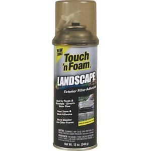 12 touch n Foam 12 Oz Landscape Repair Filler adhesive Foam Sealant 4001141212