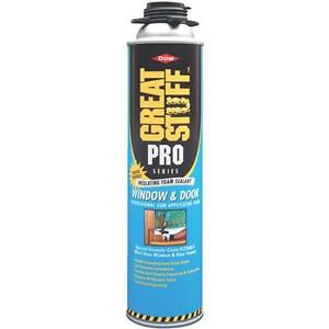 3 Pk Great Stuff Pro 20 Oz Orange Window Door Applicator Foam Sealant 187273