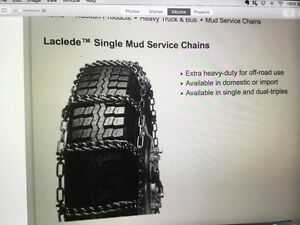 Truck Tire Chains New Laclede 2445 Can Ship