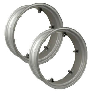 Rw09286 2 Wheel Rims 9x28 6 Loop For Massey Ferguson T020 To30 To35